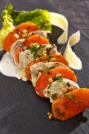 Salade-de-carottes-et-de-volaille-confites-au-lait-de-coco