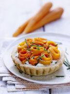Tartelettes-serpentin-carotte-citron-confit