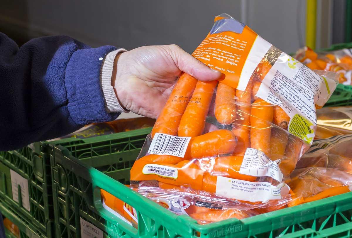 Conditionnement des carottes
